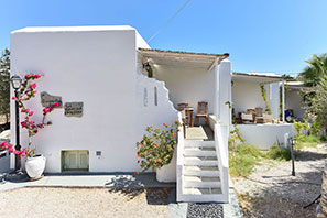 The apartment of Giannakas studios at Sifnos