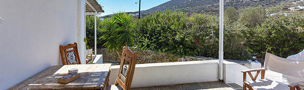 Giannakas studios at Sifnos - Apartment veranda