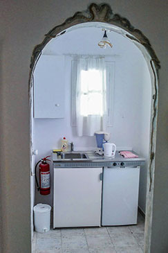 Double studio with kitchenette