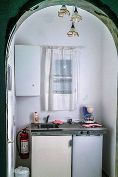 Double room with equipped kitchen